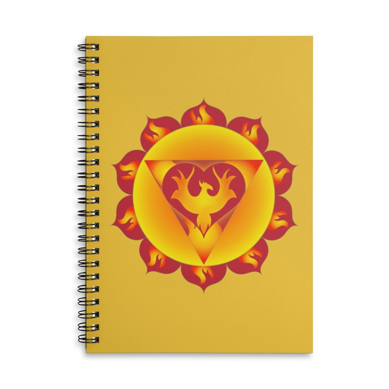 Alchemy of Love Accessories Lined Spiral Notebook by Moon Jewel