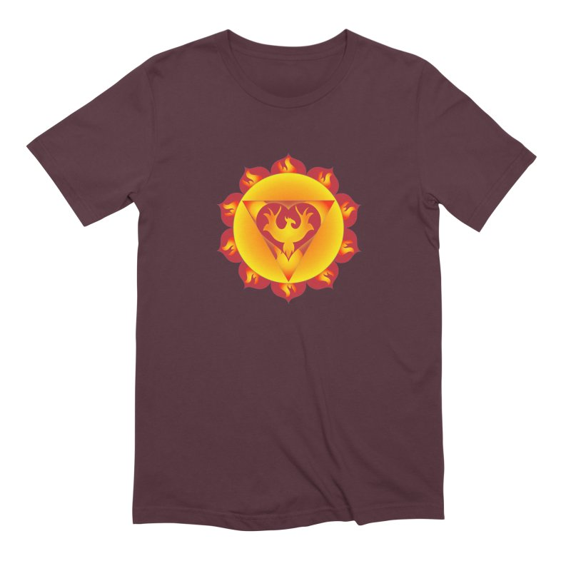 Alchemy of Love in Men's Extra Soft T-Shirt Maroon by Moon Jewel