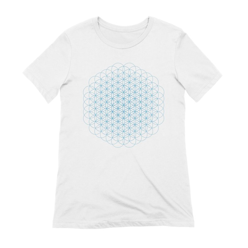 Flower of Life Women's Extra Soft T-Shirt by Moon Jewel