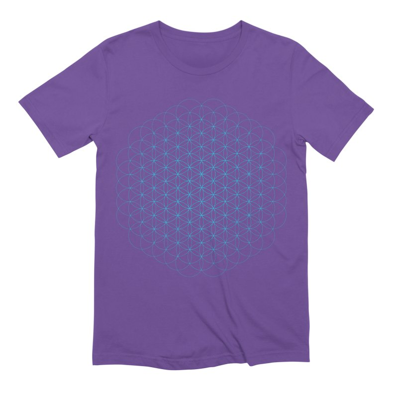 Flower of Life Men's Extra Soft T-Shirt by Moon Jewel