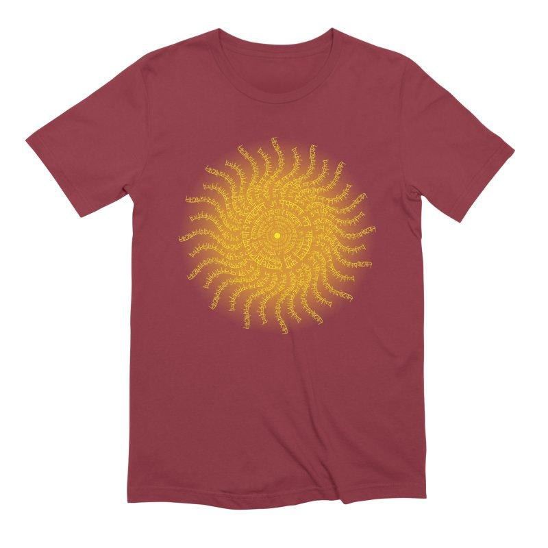 Gayatri Men's Extra Soft T-Shirt by Moon Jewel