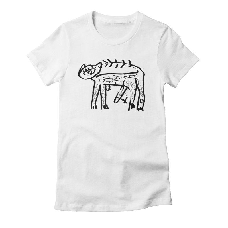 Arche cat Women's T-Shirt by Moroz's Artist Shop