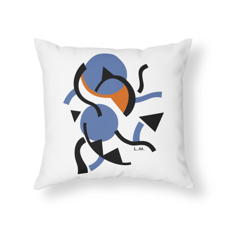 Party Home Throw Pillow by Moroz's Artist Shop