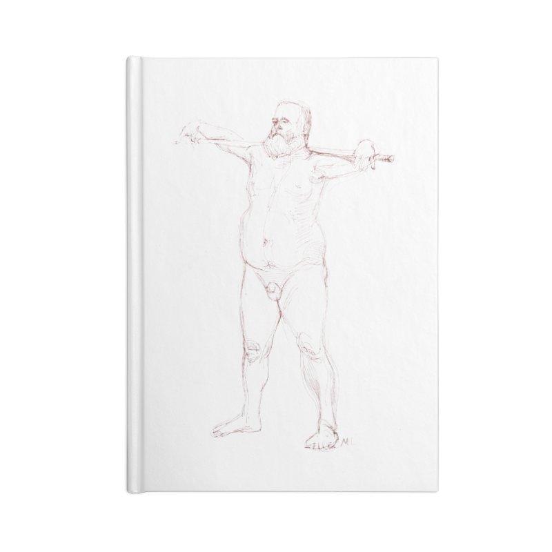 Gentleman Accessories Notebook by Moroz's Artist Shop
