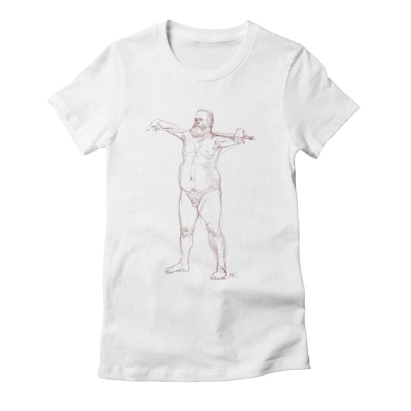 Gentleman Women's T-Shirt by Moroz's Artist Shop
