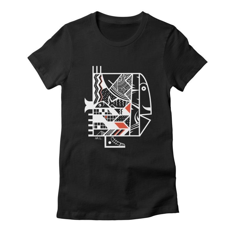 Travel Fish (more) Women's T-Shirt by Moroz's Artist Shop