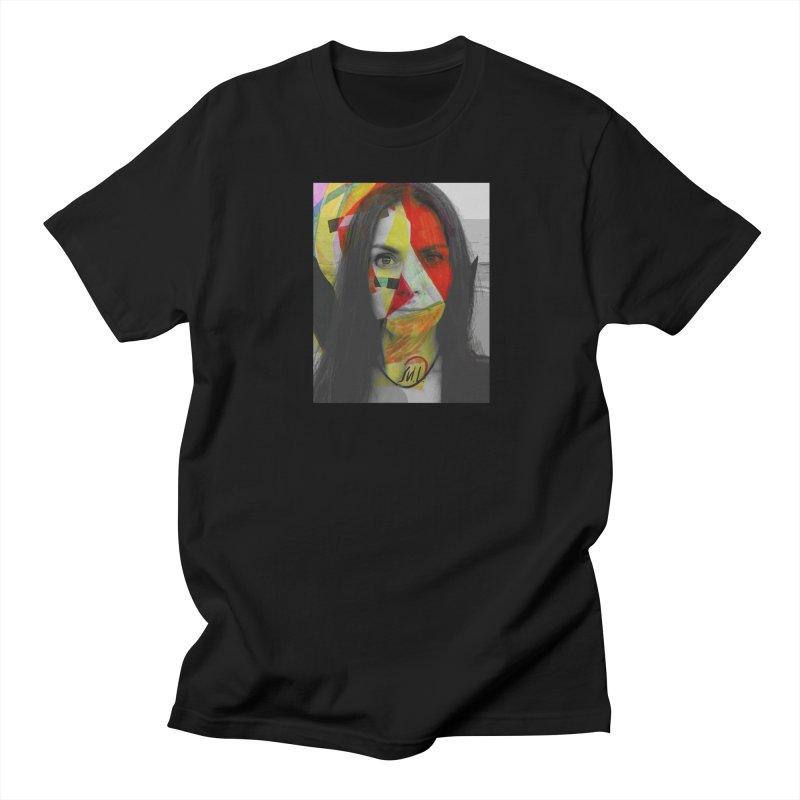 Self-portrait Men's T-Shirt by Moroz's Artist Shop
