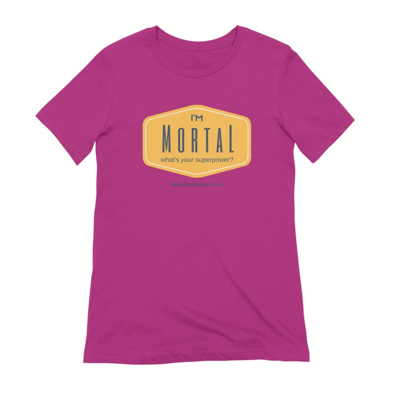 What's your superpower? Women's Extra Soft T-Shirt by The MortalityMindset Shop