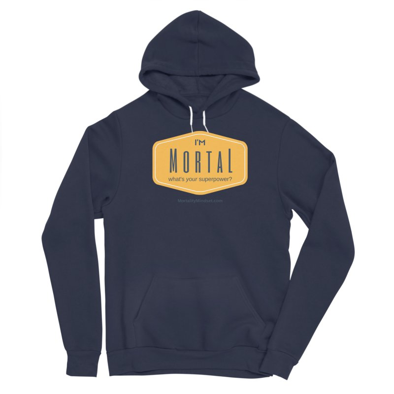 What's your superpower? Women's Sponge Fleece Pullover Hoody by The MortalityMindset Shop