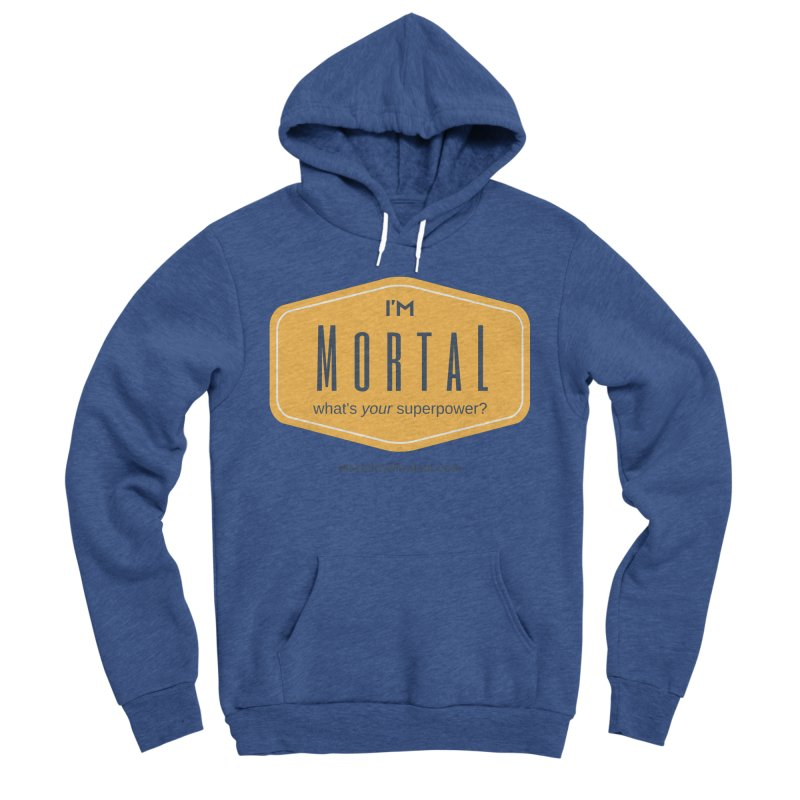 What's your superpower? Men's Sponge Fleece Pullover Hoody by The MortalityMindset Shop