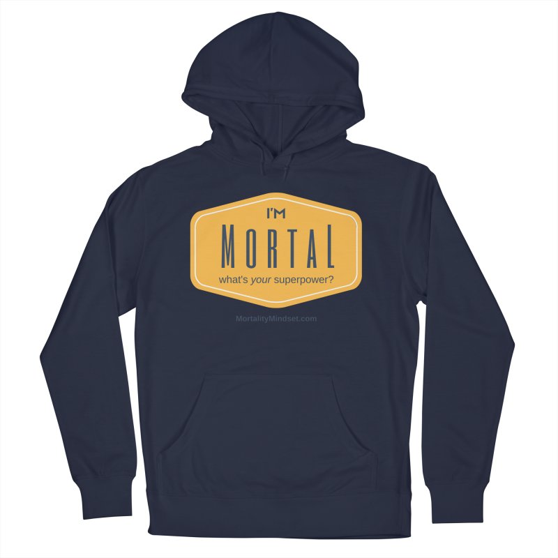 What's your superpower? Men's Pullover Hoody by The MortalityMindset Shop