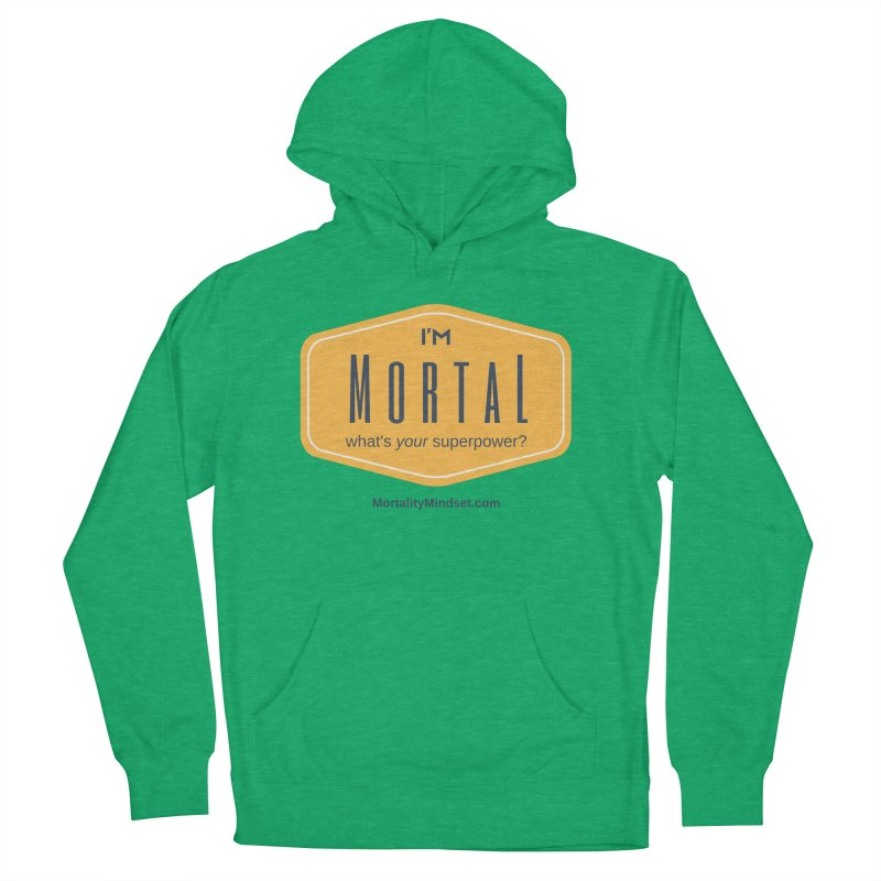 What's your superpower? Women's French Terry Pullover Hoody by The MortalityMindset Shop