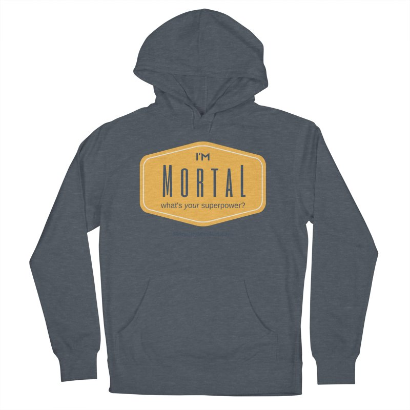 What's your superpower? Men's French Terry Pullover Hoody by The MortalityMindset Shop