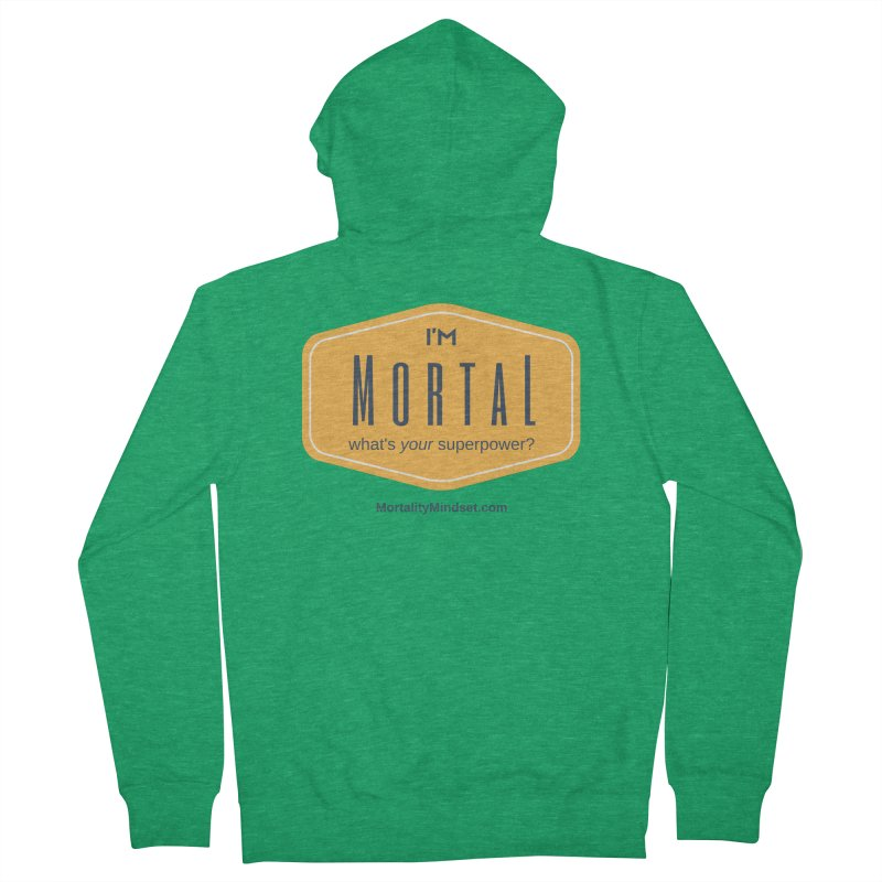 What's your superpower? Men's French Terry Zip-Up Hoody by The MortalityMindset Shop