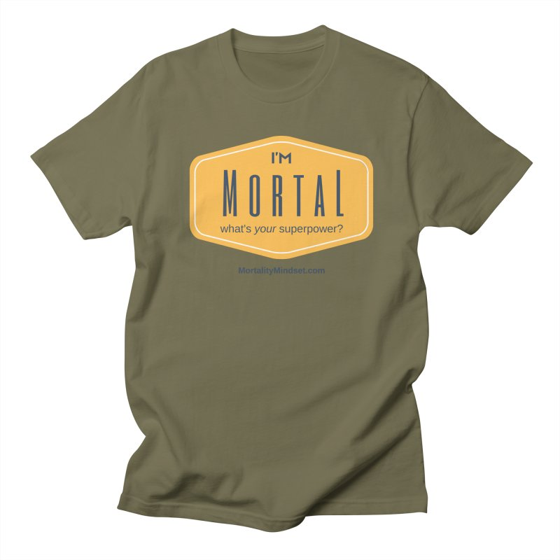 What's your superpower? Men's Regular T-Shirt by The MortalityMindset Shop