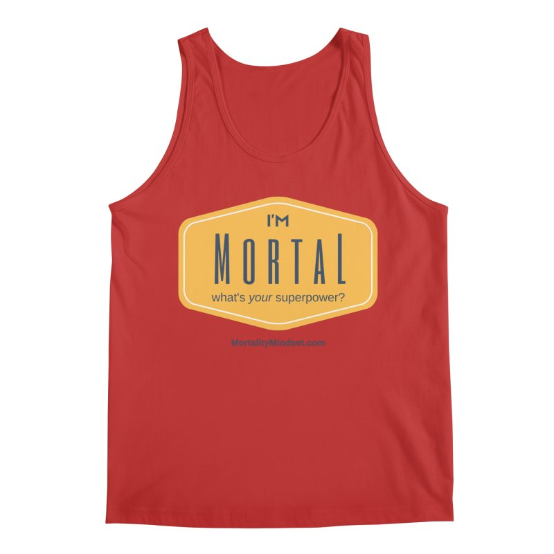 What's your superpower? Men's Regular Tank by The MortalityMindset Shop