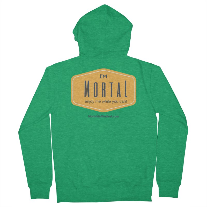 Enjoy me while you can! Men's Zip-Up Hoody by The MortalityMindset Shop