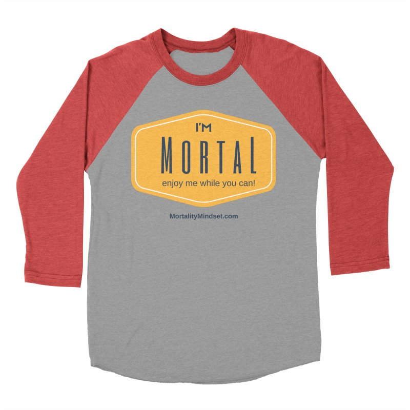 Enjoy me while you can! Men's Baseball Triblend Longsleeve T-Shirt by The MortalityMindset Shop
