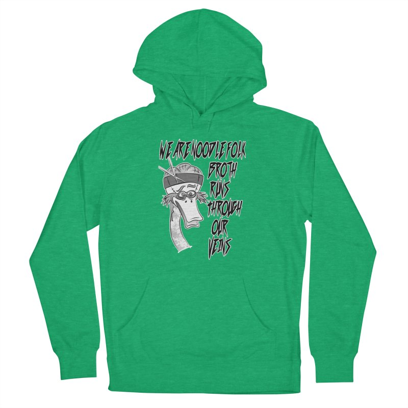 We are noodle folk broth runs through our veins Men's French Terry Pullover Hoody by MortimerAglet's Artist Shop