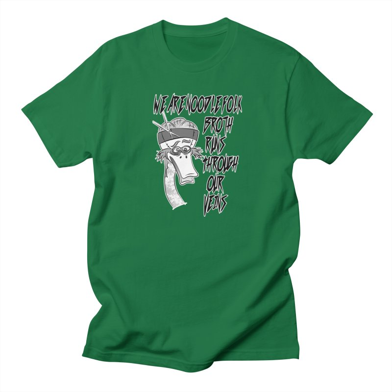 We are noodle folk broth runs through our veins Women's Regular Unisex T-Shirt by MortimerAglet's Artist Shop