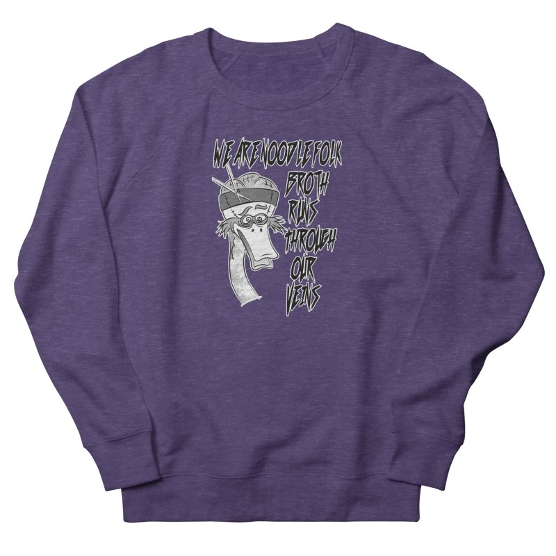 We are noodle folk broth runs through our veins Women's Sweatshirt by MortimerAglet's Artist Shop