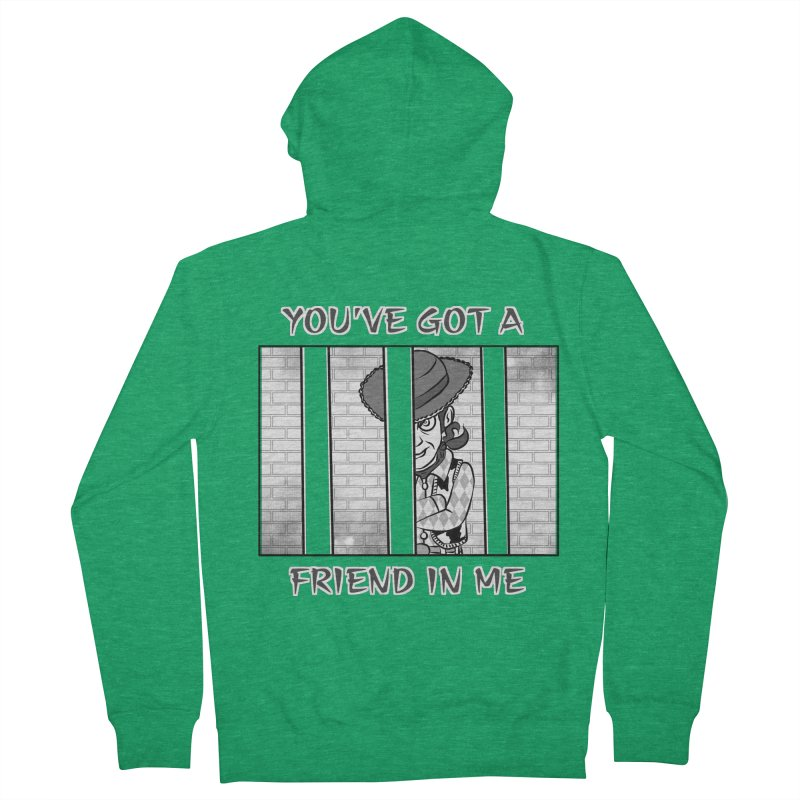 You've Got a Friend in Me Men's French Terry Zip-Up Hoody by MortimerAglet's Artist Shop
