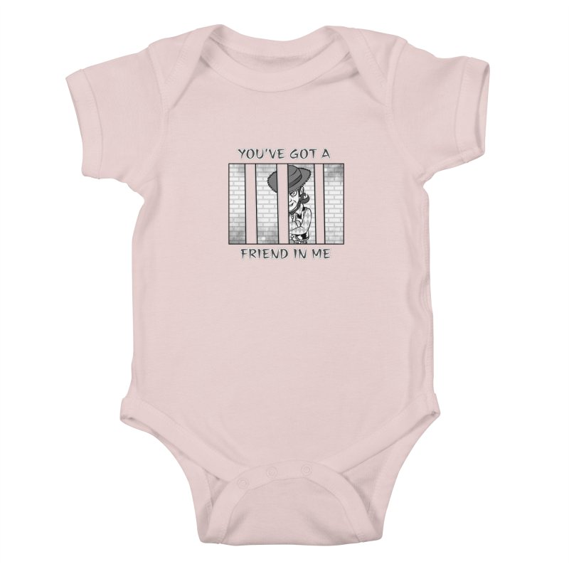 You've Got a Friend in Me Kids Baby Bodysuit by MortimerAglet's Artist Shop