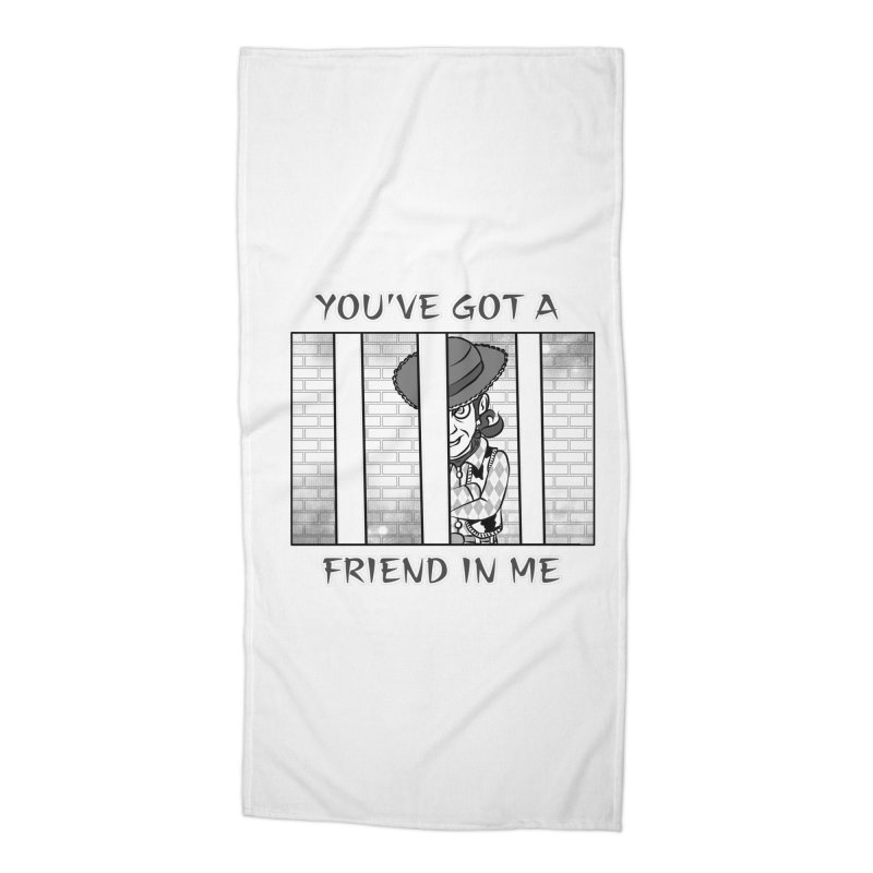 You've Got a Friend in Me Accessories Beach Towel by MortimerAglet's Artist Shop