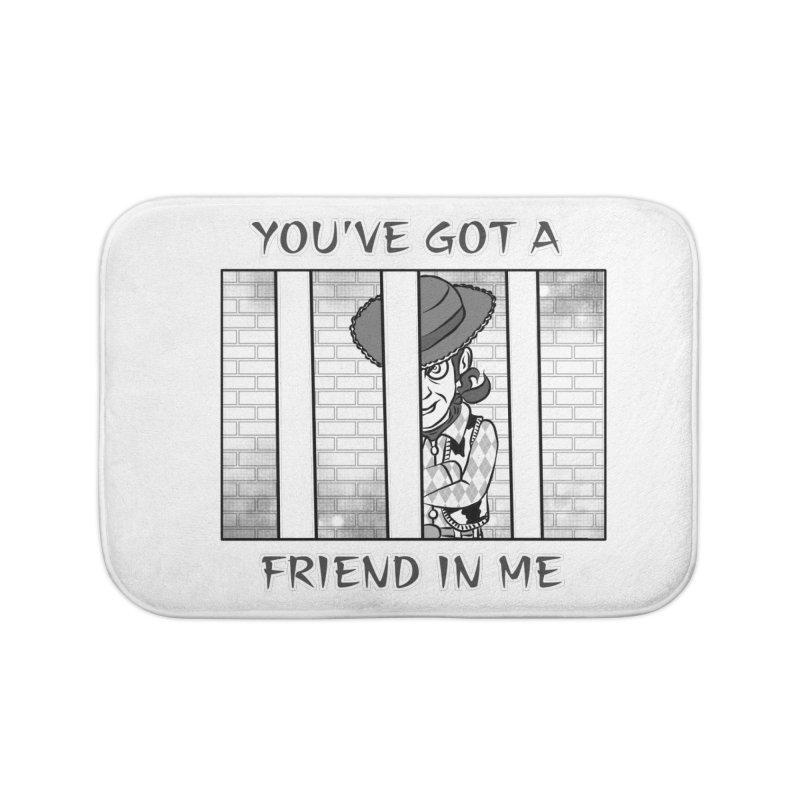 You've Got a Friend in Me Home Bath Mat by MortimerAglet's Artist Shop