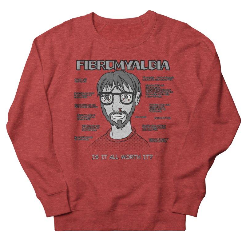 Fibromyalgia - Existence is PAIN Men's Sweatshirt by MortimerAglet's Artist Shop