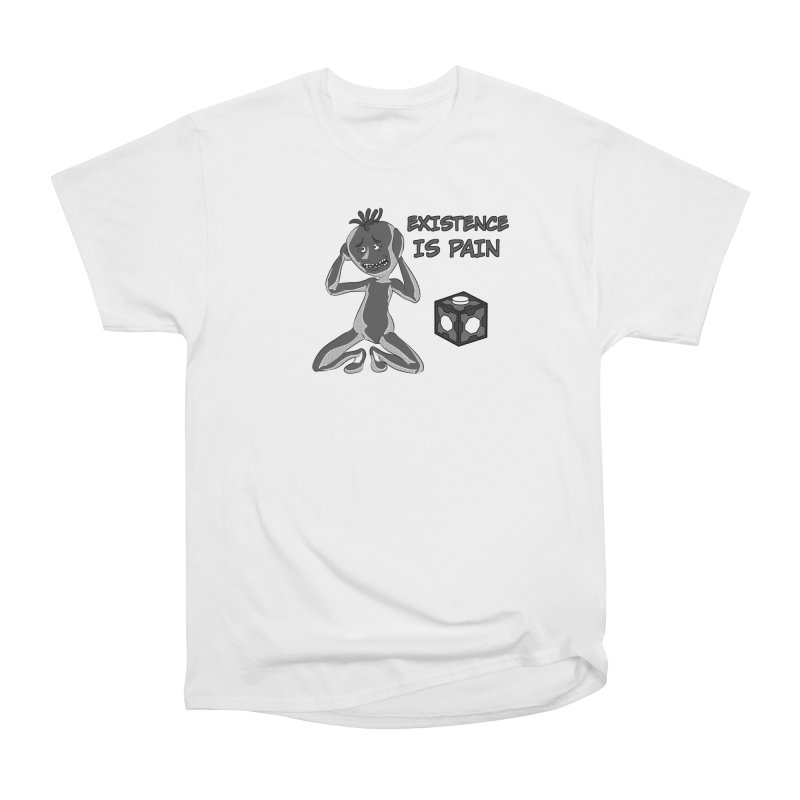 Existence is PAIN Men's Heavyweight T-Shirt by MortimerAglet's Artist Shop