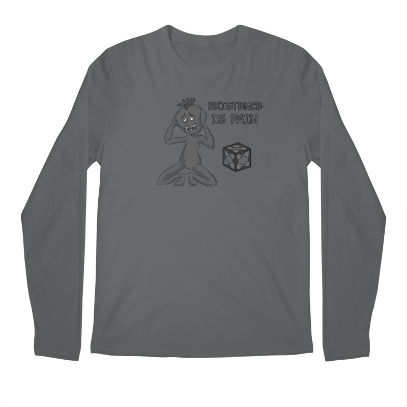 Existence is PAIN Men's Longsleeve T-Shirt by MortimerAglet's Artist Shop