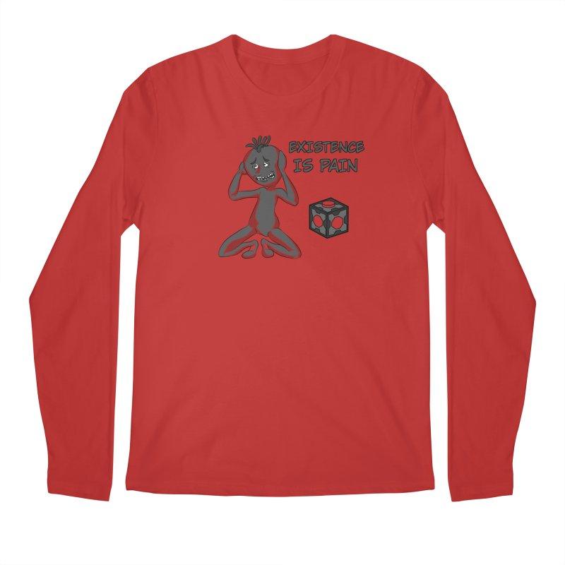 Existence is PAIN Men's Longsleeve T-Shirt by MortimerAglet's Artist Shop