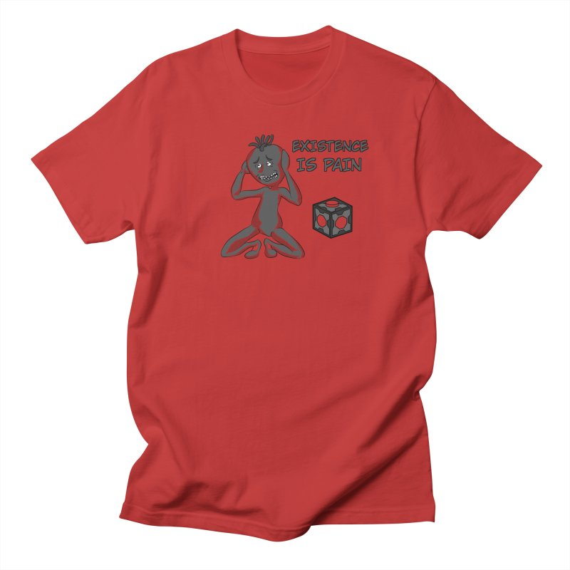 Existence is PAIN Men's T-shirt by MortimerAglet's Artist Shop