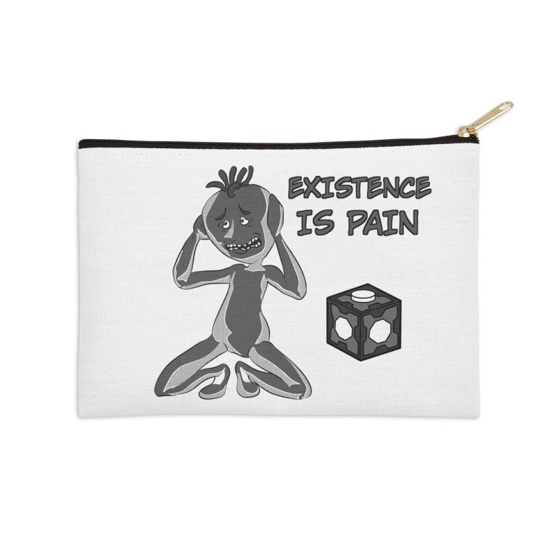 Existence is PAIN Accessories Zip Pouch by MortimerAglet's Artist Shop