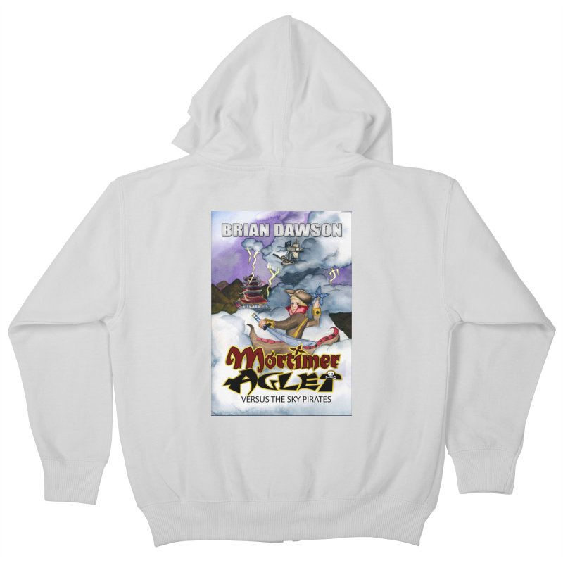 MORTIMER AGLET Kids Zip-Up Hoody by MortimerAglet's Artist Shop