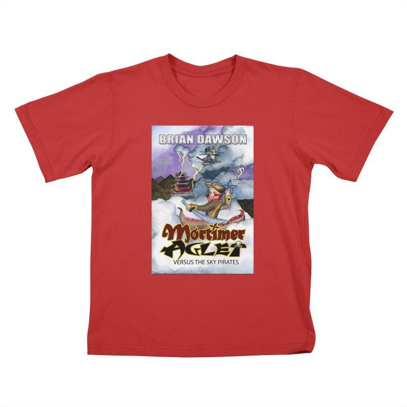 MORTIMER AGLET Kids T-shirt by MortimerAglet's Artist Shop