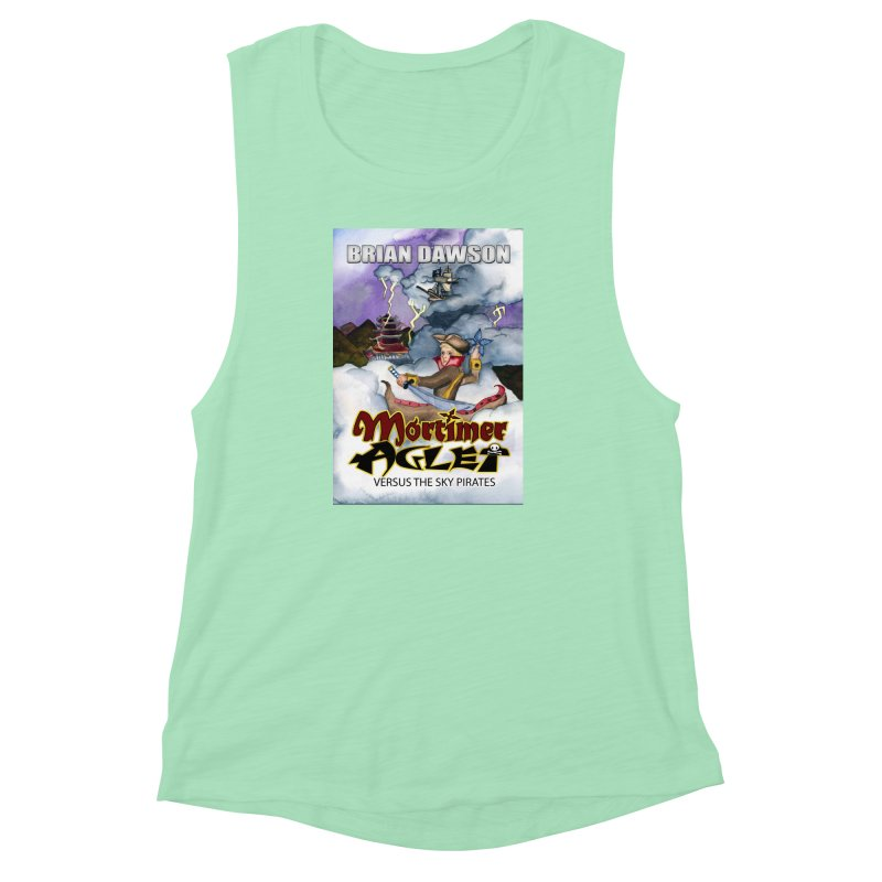 MORTIMER AGLET Women's Muscle Tank by MortimerAglet's Artist Shop