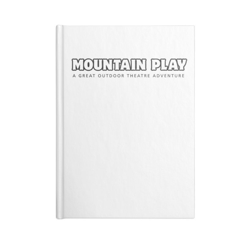 Mountain Play Logo (for light colors) Accessories Notebook by Mountain Play Shop