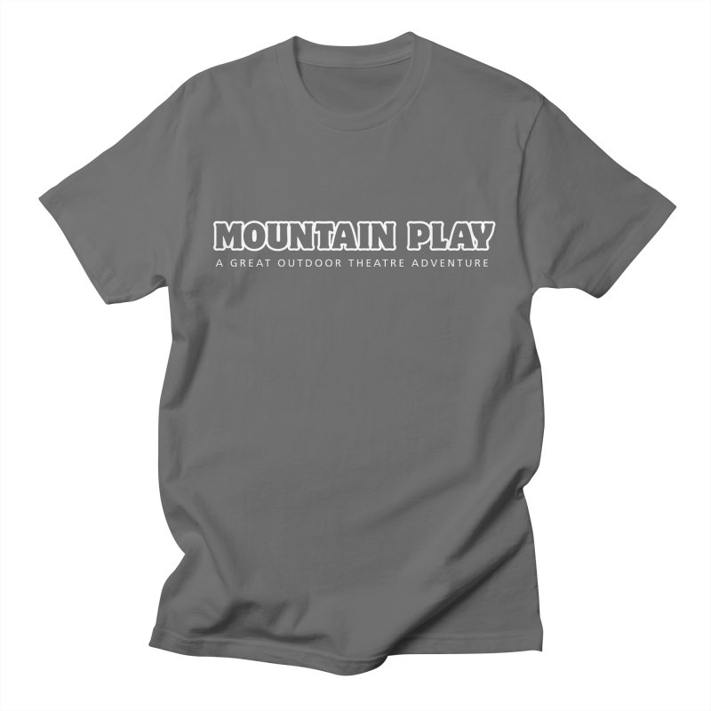 Mountain Play Logo (white for dark colors) Men's T-Shirt by Mountain Play Shop