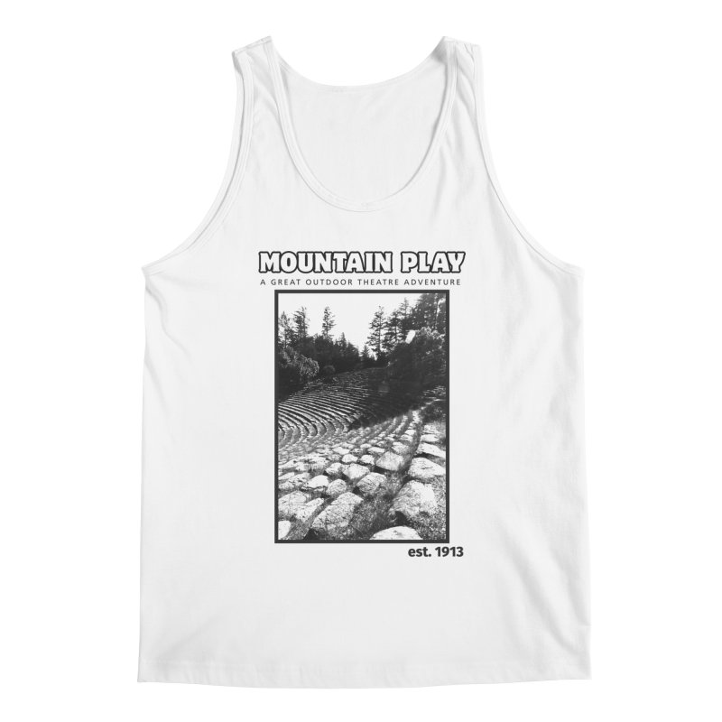 Ampitheatre Steps (black for light colors) Men's Tank by Mountain Play Shop