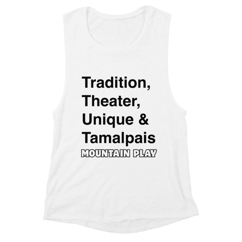 Typography Women's Tank by Mountain Play Shop