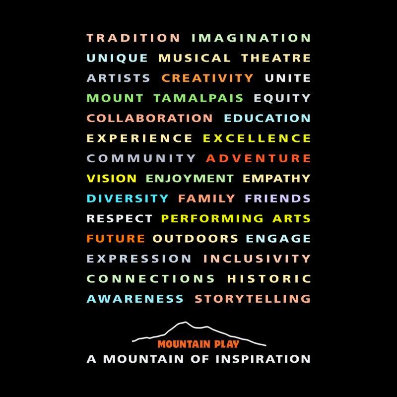 Mountain of Inspiration Women's T-Shirt by Mountain Play Shop