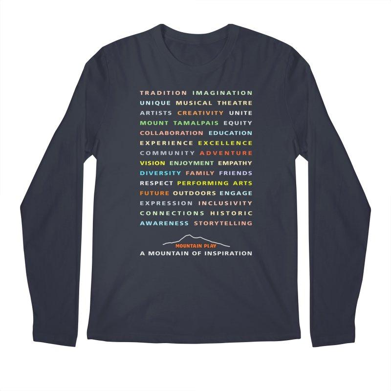 Mountain of Inspiration Men's Longsleeve T-Shirt by Mountain Play Shop