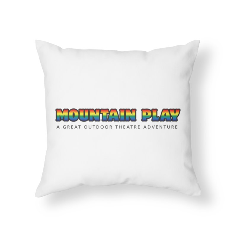 PRIDE Home Throw Pillow by Mountain Play Shop