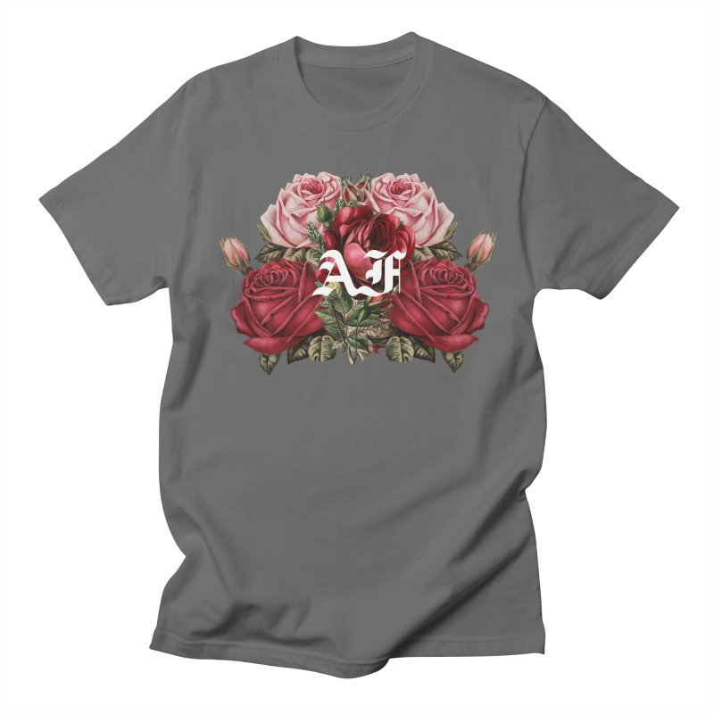 Angels Forever (Full Bloom White) Men's T-Shirt by Mountain View Co