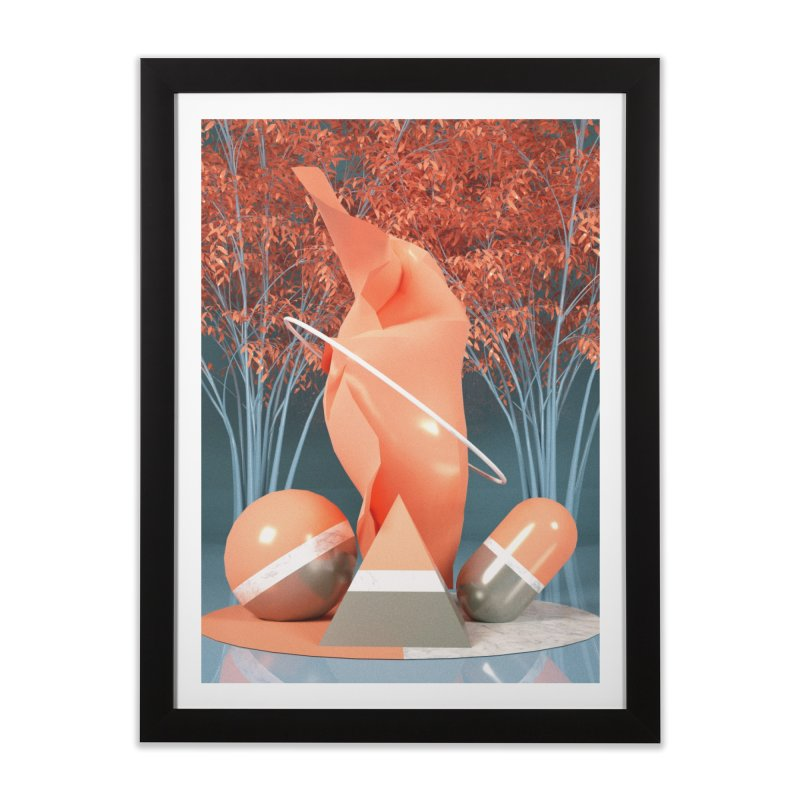 Catalyst Home Framed Fine Art Print by Mountain View Co