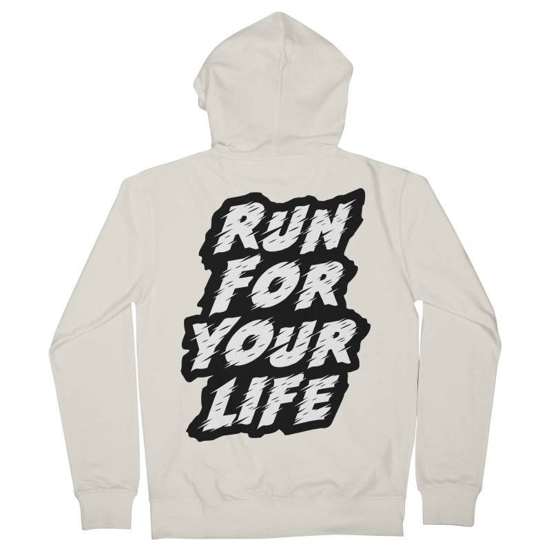 Run For Your Life Women's French Terry Zip-Up Hoody by Mountain View Co