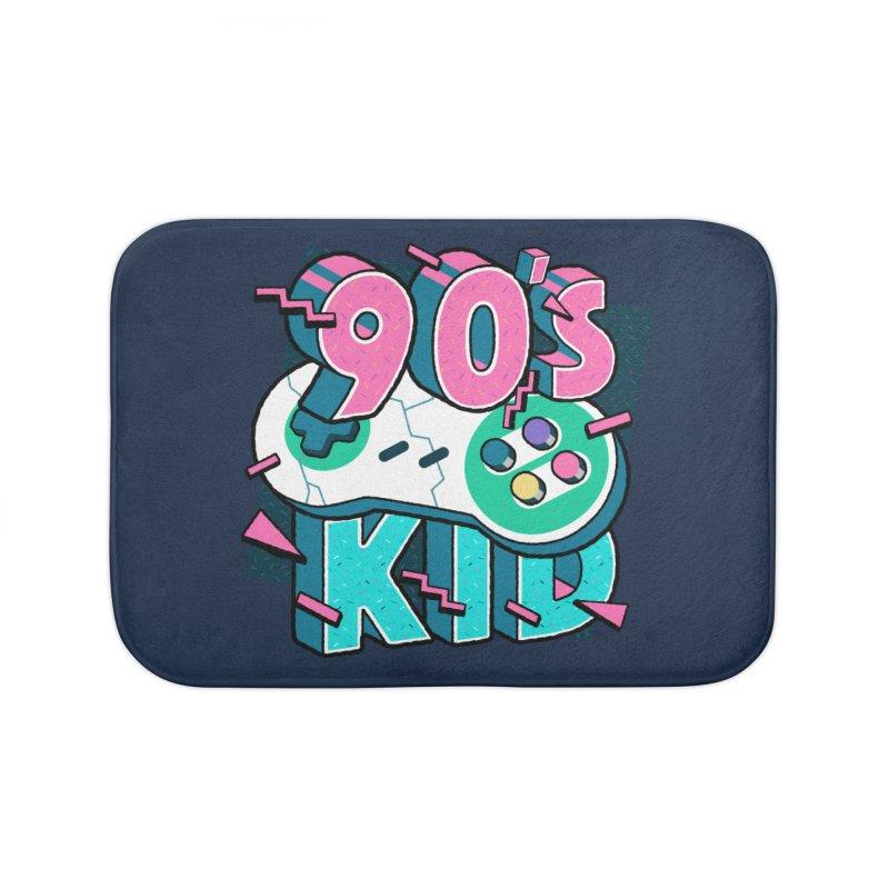 90's Kid Home Bath Mat by Mountain View Co