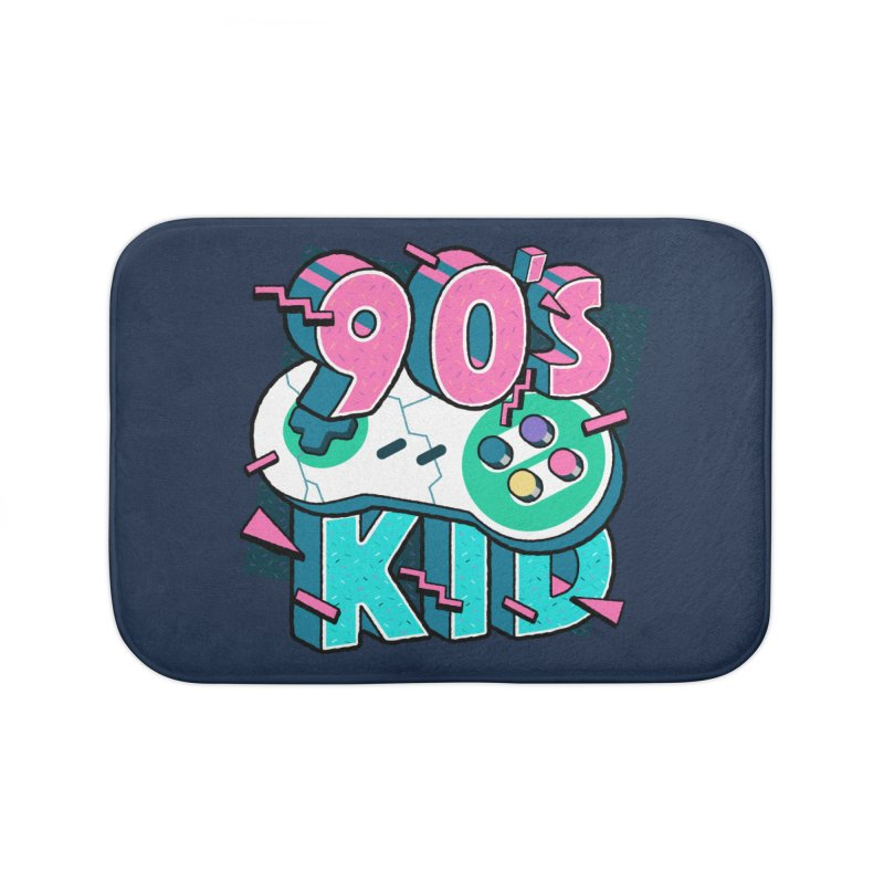 90's Kid Home Bath Mat by Mountain View Co